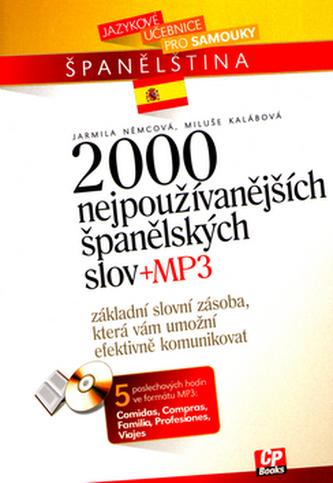 2000 nejužívanějších španělských slov