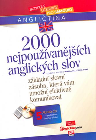 2000 nejpoužívanějších anglických slov + 5 audio CD