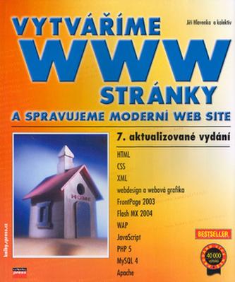 Vytváříme WWW stránky a spravujeme moderní web site
