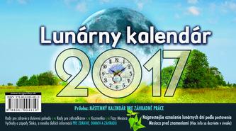 Lunárny kalendár 2017