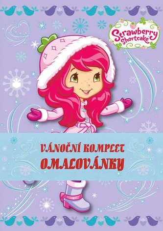 Strawberry + Winx - Omalovánkový vánoční komplet