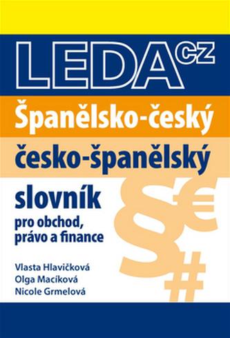 Španělsko-český a česko-španělský slovník obchodního právo a finance