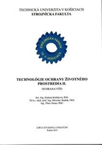 Technológie ochrany životného prostredia II. - Ochrana vôd