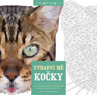 Kočky - Vybarvi mě