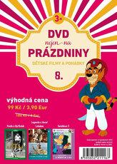 DVD nejen na Prázdniny 8. - Dětské filmy a pohádky - 3 DVD