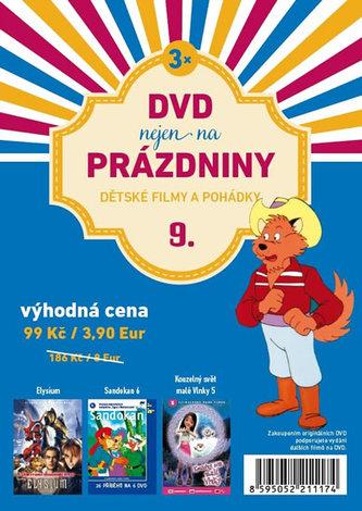 DVD nejen na Prázdniny 9. - Dětské filmy a pohádky - 3 DVD - neuveden