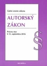 Autorský zákon. Úzz, 2016