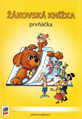 Žákovská knížka prvňáčka - barevná s obrázky