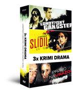 3x Krimi drama (3 DVD): Londýnský gangster, Slídil, Právo na vraždu