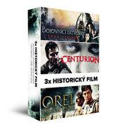 3x Historický film (3 DVD): Bojovníci severu: Sága Vikingů, Centurion, Orel Deváté legie