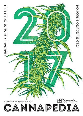 Kalendář Cannapedia 2017 - Konopné odrůdy s CBD