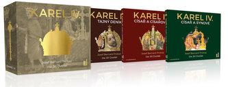 KAREL IV. - kompletní trilogie - 4CDmp3