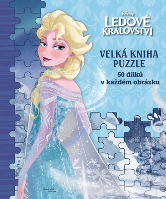 Ledové království Velká kniha puzzle - nemá autora
