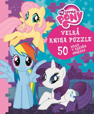 My Little pony - Velká kniha puzzle