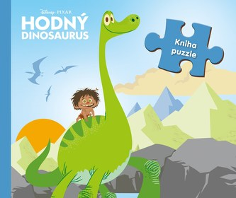 Hodný dinosaurus - kniha puzzle