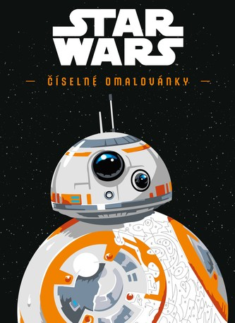 STAR WARS: Číselné omalovánky