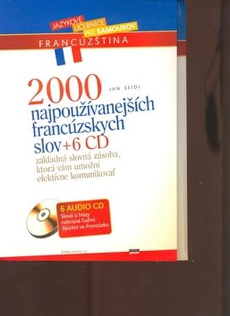2000 najpoužívanejších francúzskych slov + 6CD