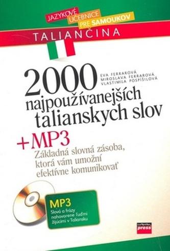2000 najpoužívanejších talianských slov + MP3