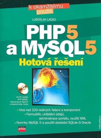 PHP 5 a MySQL 5