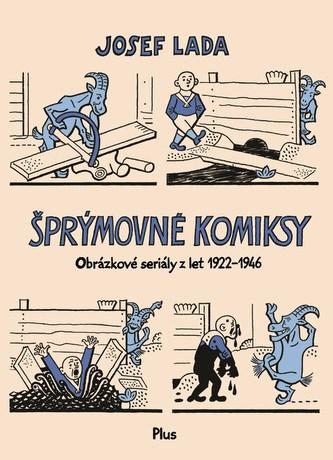 Šprýmovné komiksy - Josef Lada
