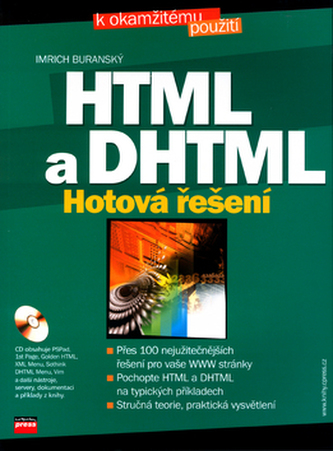 HTML a DHTML