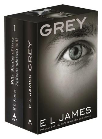 Padesát odstínů šedi + Grey BOX - E. L. James