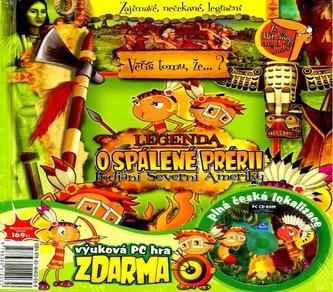 Legenda o spálené prérii,Indiáni+CD ROM