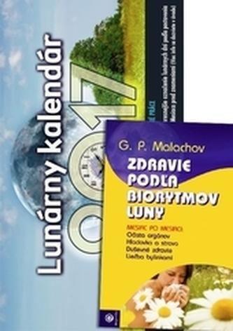 Lunárny kalendár 2017 + kniha Zdravie podľa biorytmov Luny