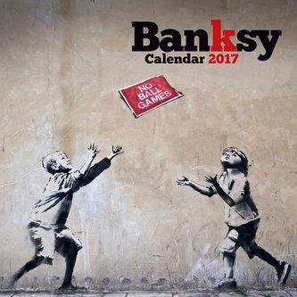 Kalendář 2017 - BANKSY