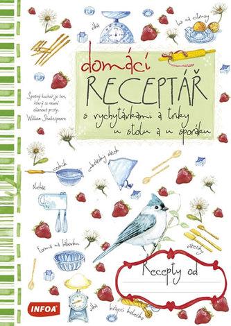 Domácí receptář - neuveden