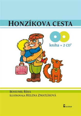 Honzíkova cesta + 2CD - Bohumil Říha; Václav Postránecký; Helena Zmatlíková