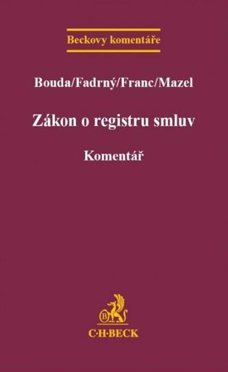 Zákon o registru smluv. Komentář