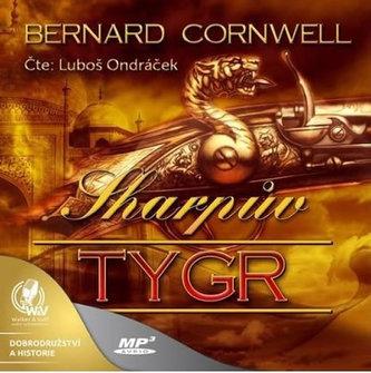 Sharpův tygr - CDmp3 - Bernard Cornwell