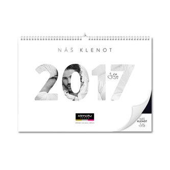Kalendář nástěný 2017 - Náš klenot Jaromír Jágr