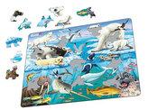 Puzzle MAXI - Zvířátka v Arktidě/75 dílků