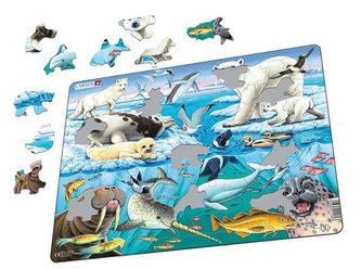 Puzzle MAXI - Zvířátka v Arktidě/75 dílků - neuveden