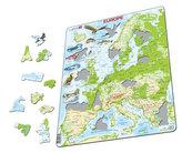 Puzzle MAXI - Mapa EVROPY geografická/87 dílků