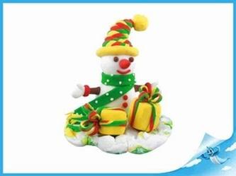 Paulinda Merry Christmas sněhulák s doplňky v kelímku