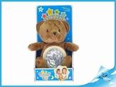 STARLIGHT PETS zvířátko plyšové-medvěd/lampička