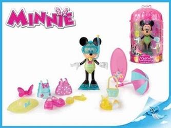 Minnie plážová figurka kloubová