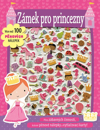Zámek pro princezny - Více než 100 pěnových nálepek