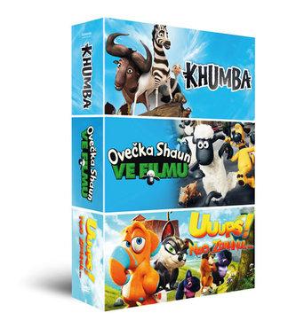 Animáky kolekce II.: Ovečka Shaun ve filmu, Khumba, Uuups! Noe zdrhnul… - neuveden