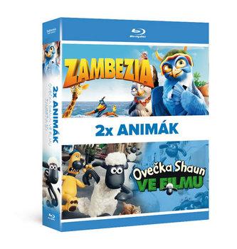 2x Blu-ray ANIMÁK: Ovečka Shaun ve filmu, Zambezia 3D - neuveden