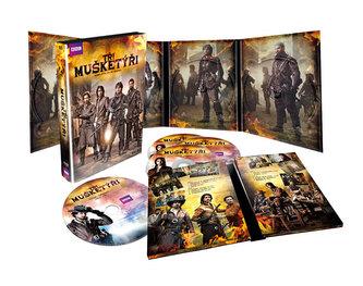 Tři mušketýři - Kompletní I. sezóna: 4 DVD - neuveden