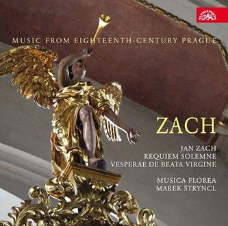 J. Zach - Hudba Prahy 18. století - CD