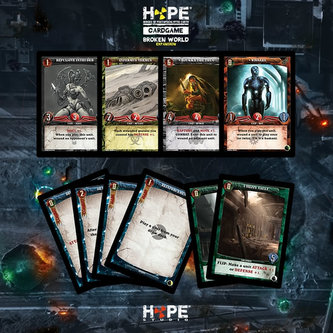 HOPE Cardgame: Broken World - Stolní hra