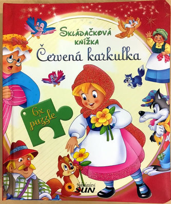 Skládačková knížka - Červená Karkulka