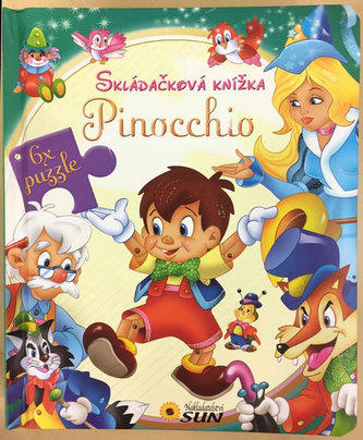 Skládačková knížka - Pinocchio