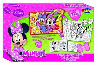 Puzzle Minnie 24 dílků