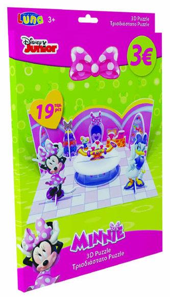 Puzzle 3D - Minnie - papírové